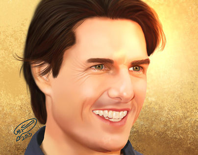 Tom Cruise | Digital Painting