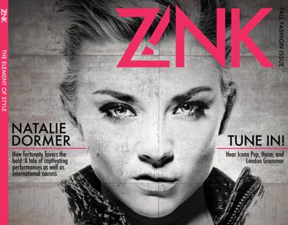 Z!nk Magazine Rebrand