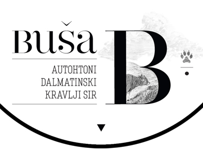 Buša – cheese label