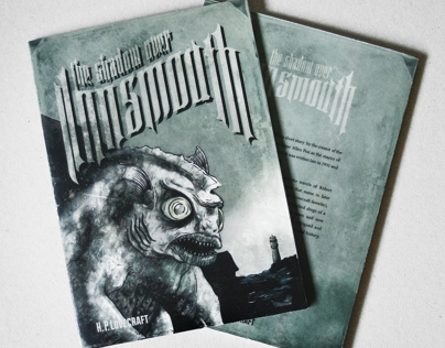 The Shadow Over Innsmouth Illustrated Book