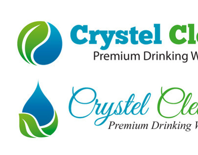 Crystel Clean Logo Designs