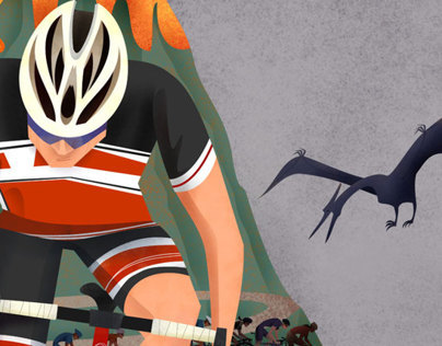 Tour of Sufferlandria | a bicycle race poster