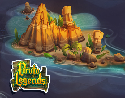 Pirate Legends TD Background 2