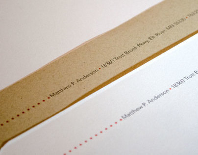 Pearce Studio Letterhead Design