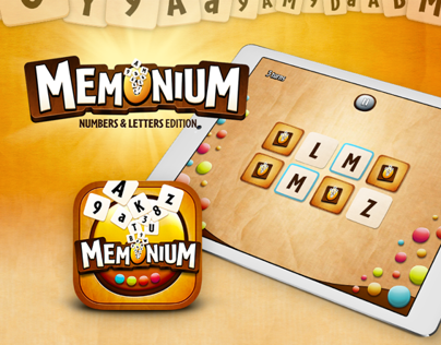 Memonium iPad Game App