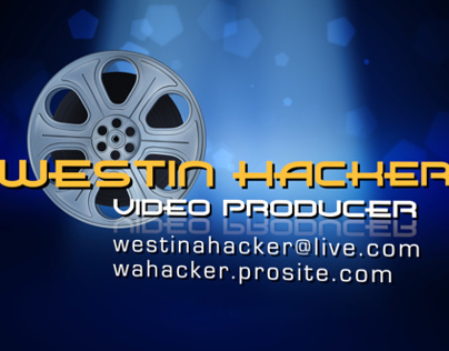 Demo Reel - Westin Hacker