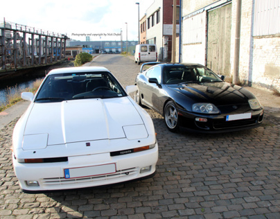 Photoshoot: Supra MKIII vs Supra MKIV