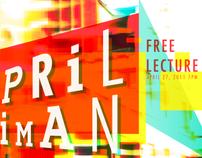 April Greiman Lecture Poster