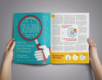 Nano Magazine Illustrations