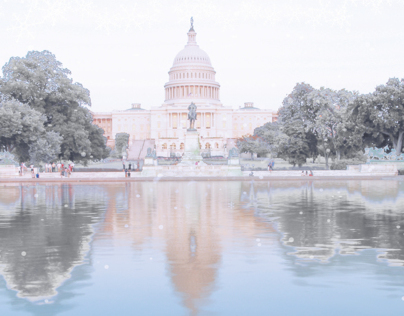 Photoshop Editing Summer to Winter Capitol