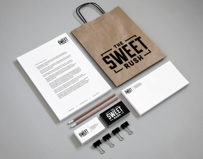 The Sweet Rush Branding