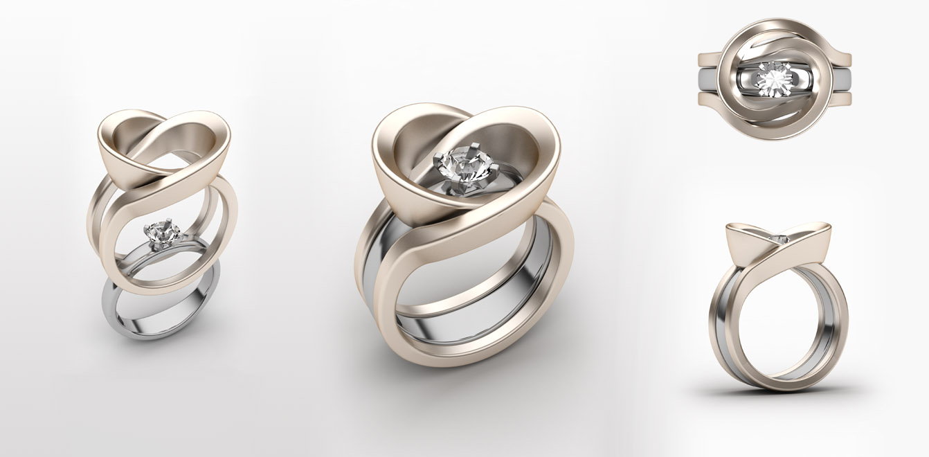 Multipurpose Jewelry: Solitaire Ring