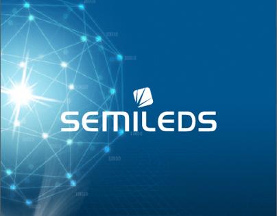 Branding Re-design 品牌重建 | SemiLEDs 旭明光電