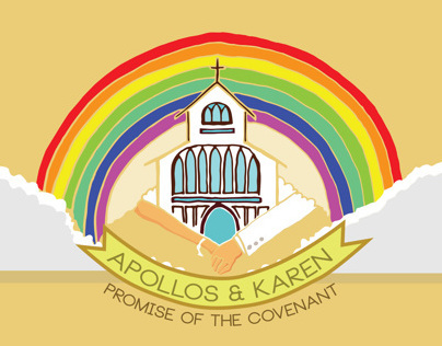 Apollos & Karens Rainbow Wedding
