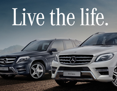 Mercedes Benz : Live The Life