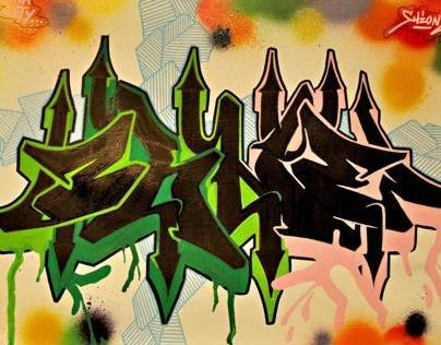 Grafflife of O`shne exhibiton