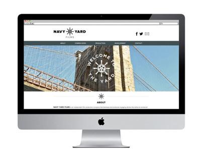 Navy Yard Films Website