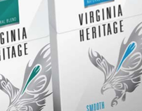 VIRGINIA HERITAGE / cigarettes- Packaging