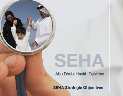 SEHA- brochure layout