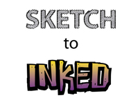 Sketch-to-inked series