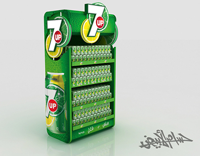 7up ( Gondolas , Stands  3 Options )