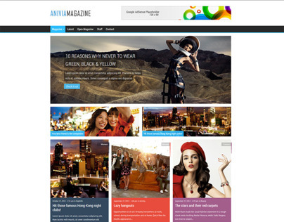 Anivia - News, Magazine, Blog Wordpress Template