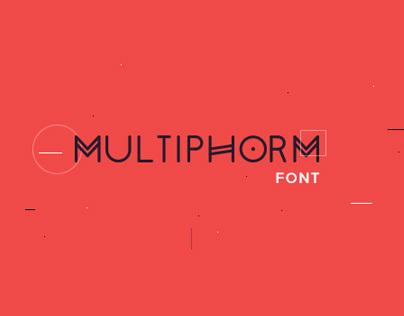 Multiphorm Font