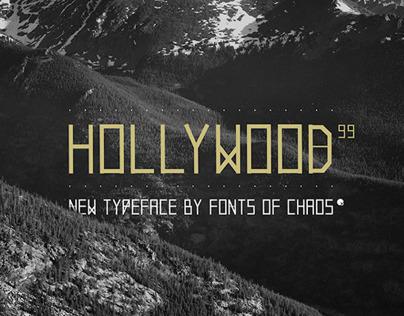 Hollywood 99 - Font