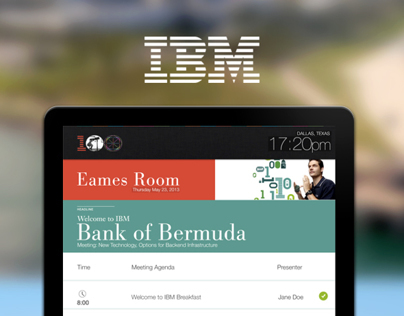Digital Meeting Displays for IBM