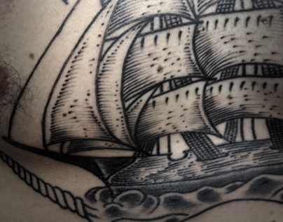 Caravel Tattoo