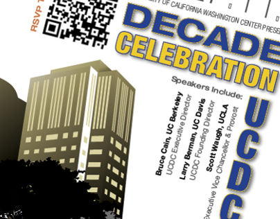 UCDC Decade Celebration Flyer Invite