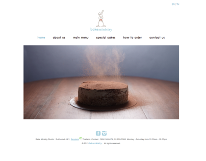 Bake ministry Website