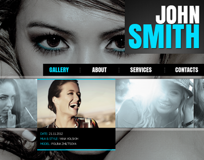 John Smith - AJAX Portfolio WP Theme