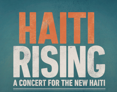 Haiti Raising. Logo and Poster exploration