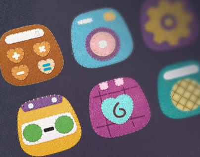 fabric DIY icons