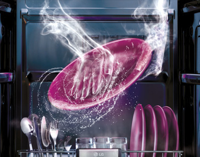 LG steam dishwasher 2012