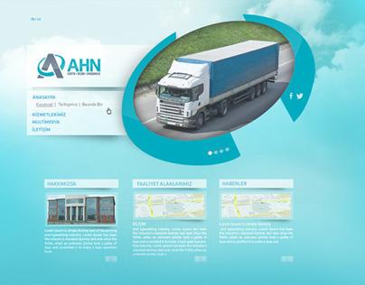 AHN Lojistik Kurumsal Web Site