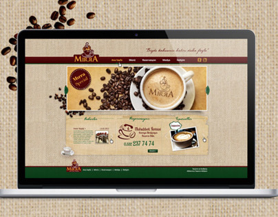 Cafe Mırra Web Site