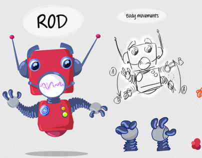 LEARN TO READ WITH PIP - Character Design