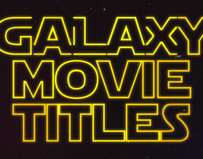 Galaxy Movie Titles