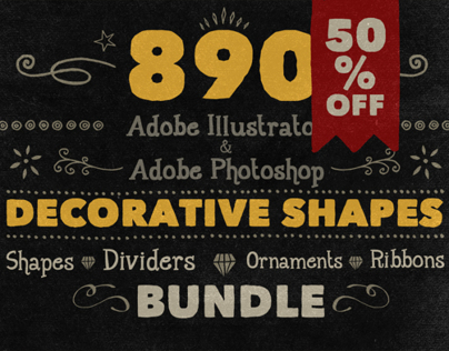 890 Handwritten Shapes