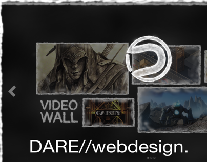 DARE//webdesign.    Entry