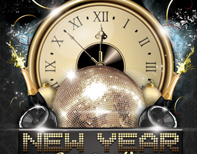 New Years Eve Party Flyer  Bundle