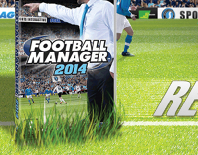 Football Manager Web Ad