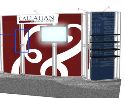 Exhibit Design - Callahan Conference Booth