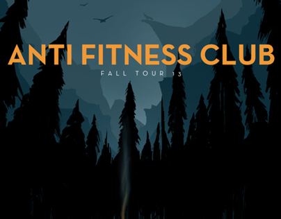 anti fitness club | fall tour '13