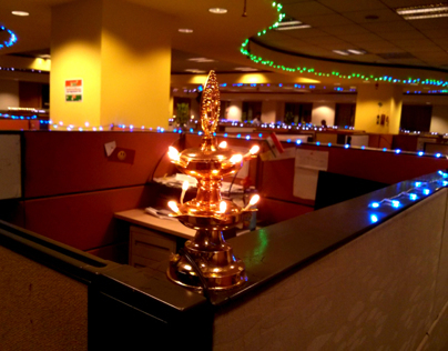 Diwali in My Office