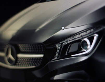 Mercedes CLA HTML5 Customizer