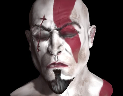 Kratos - God OF War - 3d Sculpt