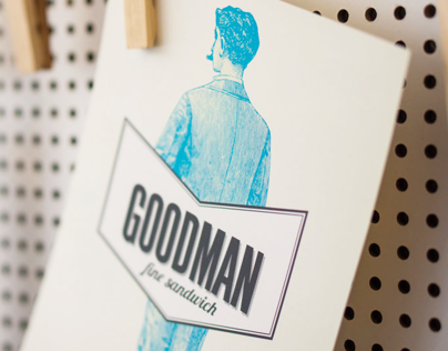Goodman | Sandwich Shop Branding & Interior
